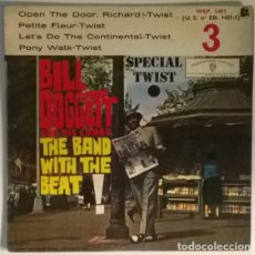 Discos de vinilo: BILL DOGGETT & HIS COMBO. THE BAND WITH THE BEAT! OPEN THE DOOR/ PETITE FLEUR/ PONY WALK TWIST 1962. Lote 217956627