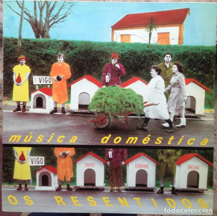 OS RESENTIDOS - MÚSICA DOMÉSTICA. LP. GRABACIONES ACCIDENTALES. EDICIÓN ESPAÑOLA. (Música - Discos - LP Vinilo - Grupos Españoles de los 70 y 80)