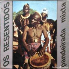 Discos de vinilo: OS RESENTIDOS - VIGO 92 + PANDEIRADA MIXTA. 2 MAXI. GRABACIONES ACCIDENTALES. 1987 EDICIÓN ESPAÑOLA.. Lote 217959372