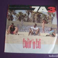Discos de vinilo: 7A3 - COOLIN' IN CALI - SG GEFFEN 1991 - HIP HOP 90'S - EDICION USA SIN APENAS USO. Lote 217969947