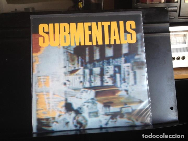 SUBMENTALS M- SUBMENTALS (GARAGE, PSYCHEDELIC, PUNK) LP MADE IN GERMANY 1988. NM - NM (Música - Discos - LP Vinilo - Punk - Hard Core)