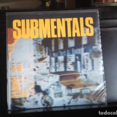 Discos de vinilo: SUBMENTALS M- SUBMENTALS (GARAGE, PSYCHEDELIC, PUNK) LP MADE IN GERMANY 1988. NM - NM. Lote 217970750