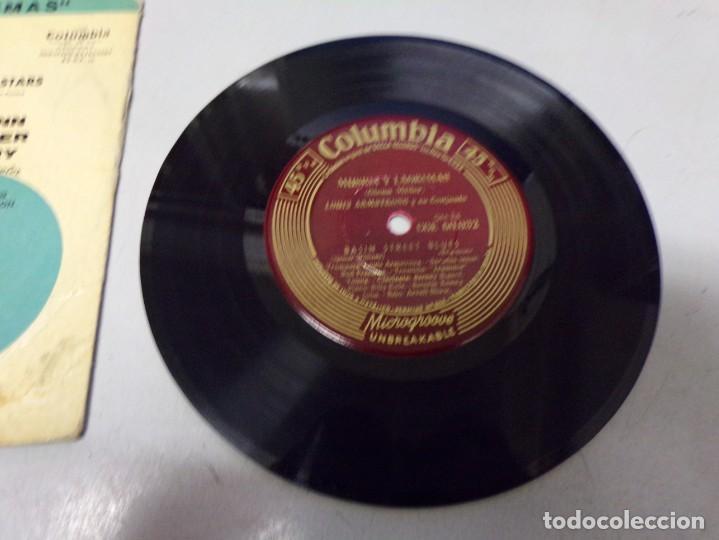 Discos de vinilo: Louis Armstrong - basin street blues , otchi - tchos - ni - ya - Foto 2 - 217974821