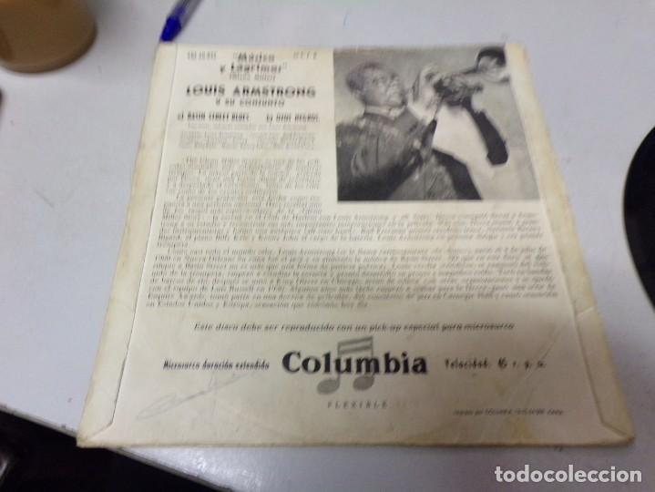 Discos de vinilo: Louis Armstrong - basin street blues , otchi - tchos - ni - ya - Foto 3 - 217974821