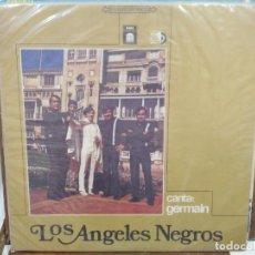 Discos de vinilo: LOS ÁNGELES NEGROS - CANTA; GERMAIN - LP. DEL SELLO EMI. Lote 217985733