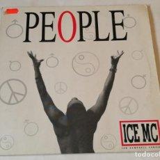 Discos de vinilo: ICE MC - PEOPLE - 1991. Lote 217986523