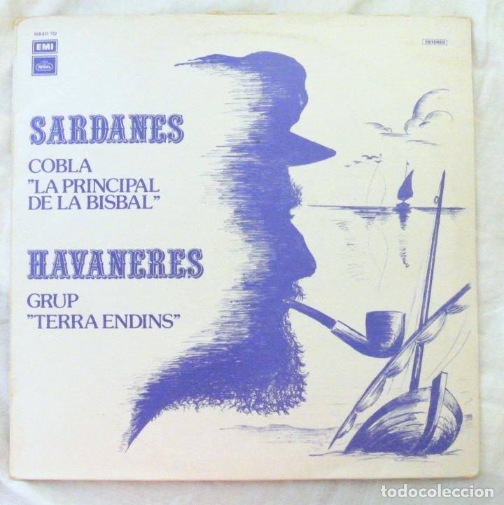 COBLA LA PRINCIPAL DE LA BISBAL-SARDANES ,HAVANERES GRUP TERRA ENDINS, DISCO VINILO LP, REGAL 1980 (Música - Discos - LP Vinilo - Country y Folk)