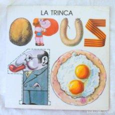 Discos de vinilo: LA TRINCA OPUS 10, DISCO VINILO LP, ARIOLA , 1979. Lote 217991080
