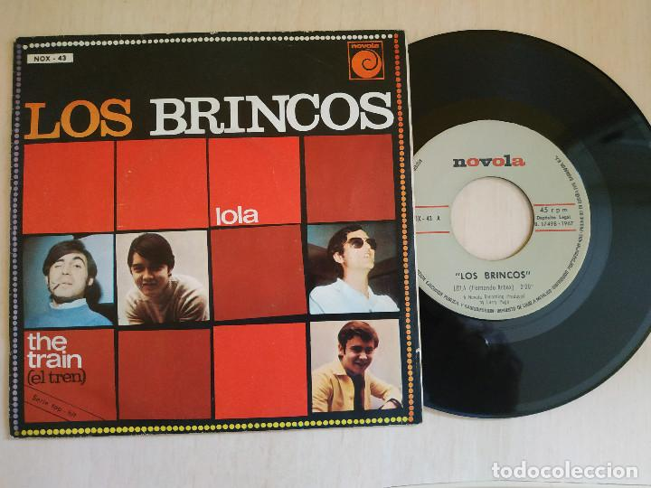 LOS BRINCOS - LOLA / THE TRAIN - SINGLE NOVOLA DEL AÑO 1967 EXCELENTE ESTADO (Música - Discos - Singles Vinilo - Grupos Españoles 50 y 60)