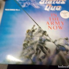 Discos de vinilo: STATUS QUO - IN THE ARMY NOW. Lote 217994952