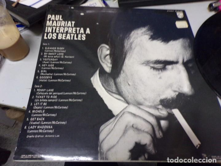 PAUL MAURIAT INTERPRETA A LOS BEATLES (Música - Discos de Vinilo - Maxi Singles - Pop - Rock Extranjero de los 50 y 60)