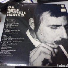 Discos de vinilo: PAUL MAURIAT INTERPRETA A LOS BEATLES. Lote 217995515