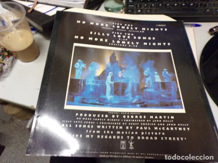 Discos de vinilo: Paul McCartney - no more lonely nights - Foto 3 - 217995642