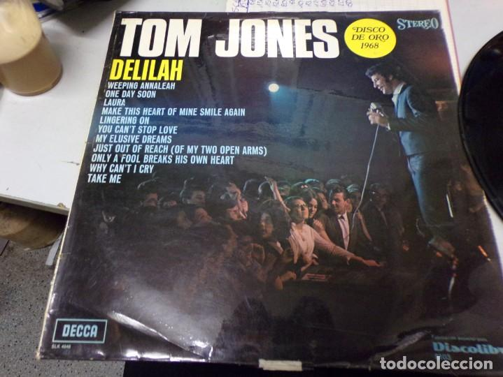 Discos de vinilo: Tom Jones - disco de oro - delilah - Foto 1 - 217995737