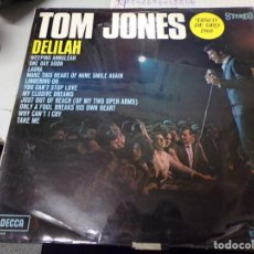 Discos de vinilo: TOM JONES - DISCO DE ORO - DELILAH. Lote 217995737