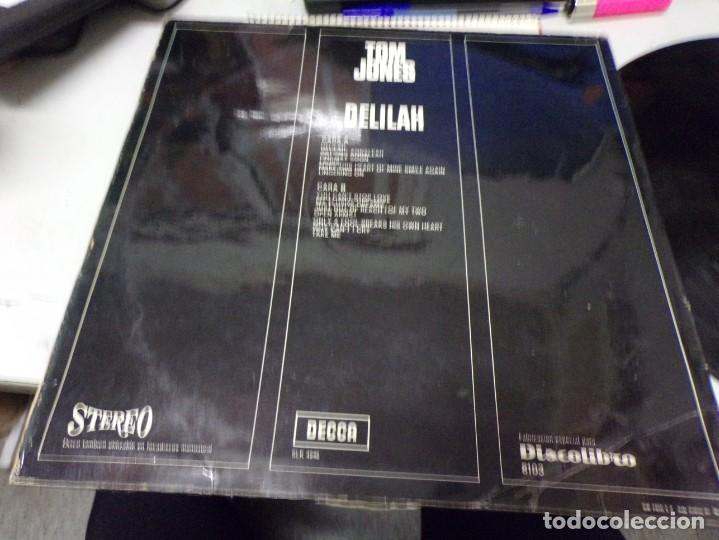 Discos de vinilo: Tom Jones - disco de oro - delilah - Foto 3 - 217995737