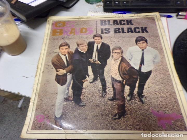 LOS BRAVOS - BLACK IS BLACK , EDICION FRANCESA (Música - Discos de Vinilo - Maxi Singles - Grupos Españoles 50 y 60)