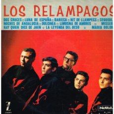 Discos de vinilo: LOS RELAMPAGOS - LOS RELAMPAGOS - LP 1965. Lote 217996976