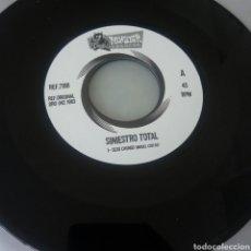 Discos de vinilo: SINIESTRO TOTAL SEXO CHUNGO SINGLE PUNK. Lote 217998418