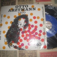 Discos de vinilo: OTTO ARZTMANN TRIO - EBB TIDE + 3 ( FIDIAS 1967) OG ESPAÑA. Lote 218001882