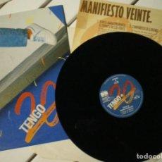 Discos de vinilo: TENGO 20 AÑOS ¿?. Lote 218002248