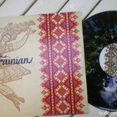 Discos de vinilo: THE UKRAINIANS Y THE WEDDING PRESENT, ED. NUMERADA, FOLK PUNK UCRANIANO. Lote 218002418