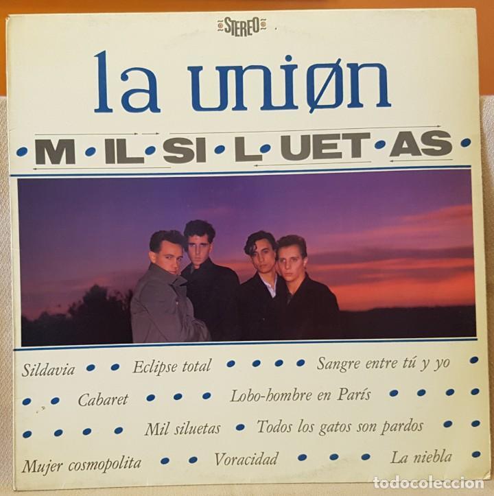 LA UNION - MIL SILUETAS - LOBO-HOMBE EN PARIS (Música - Discos - LP Vinilo - Grupos Españoles de los 90 a la actualidad)