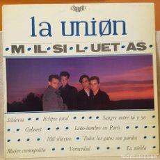 Discos de vinilo: LA UNION - MIL SILUETAS - LOBO-HOMBE EN PARIS. Lote 218003225