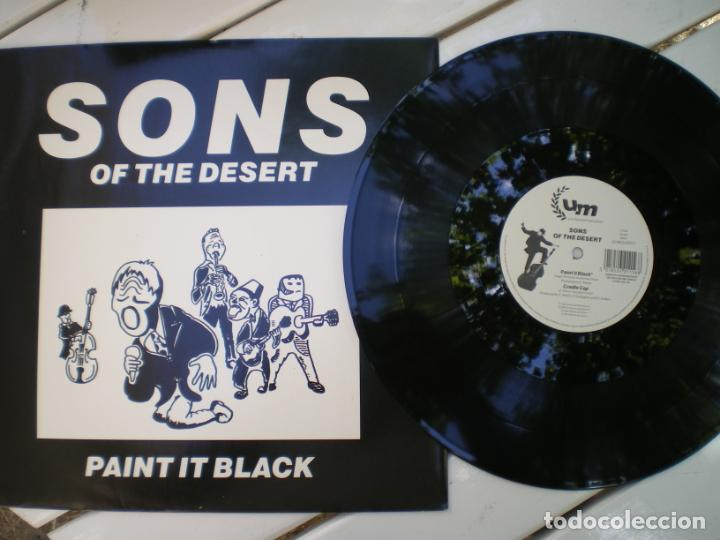 SONS OF THE DESSERT, PAINT IT BLACK (VERSION ROLLING STONES, A LA TURCA) (Música - Discos de Vinilo - Maxi Singles - Étnicas y Músicas del Mundo)