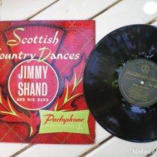 Discos de vinilo: SCOTTISH COUNTRY DANCES, JIMMY SHAND BAND. Lote 218003951