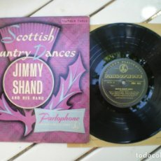 Discos de vinilo: SCOTTISH COUNTRY DANCES, JIMMY SHAND BAND. Lote 218004015