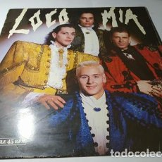 Discos de vinilo: MAXI - LOCO MIA ?– LOCO MIA - 052 2034686 ( VG+ / VG+) SPAIN 1989. Lote 218004062