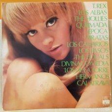 Discos de vinilo: T.REX - LOS ALBAS - THE HOLLIES - QUEIMADA- EPOCA- PIRATAS- LOS CANARIOS -THE EQUALS - DIVINA COMEDI. Lote 218004568