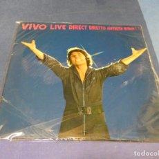 Discos de vinilo: EXPRO LP RAPHAEL LIVE VIVO DIRECTO 1980 TIENE UNO DE LOS DOS DISCOS. Lote 218006638