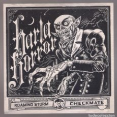 Discos de vinilo: HARLA HORROR - ROAMING STORM + CHECKMATE ( SINGLE 7¨ 2013 ). Lote 218008815