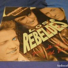 Discos de vinilo: EXPRO LP LOS REBELDES MAS ALLA DEL BIEN Y DEL MAL CIERTO USO PERO AUN MUY DIGNO. Lote 218009781