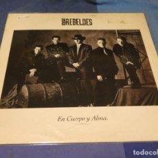 Discos de vinilo: EXPRO LP LOS REBELDES EN CUERPO Y ALMA MUY BUEN ESTADO GENERAL CON INSERTO. Lote 218009818
