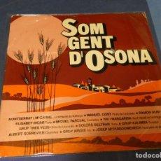 Discos de vinilo: EXPRO LP SOM GENT D OSONA CATALAN FOLK 1976 VIC MANLLEU ESTADO CORRECTO. Lote 218010211