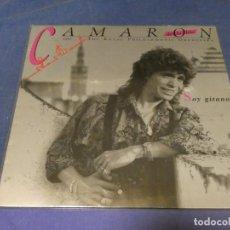 Discos de vinilo: EXPRO LP EL CAMARON DE LA ISLA SOY GITANO ESTADO BASTANTE DECENTE Y CORRECTO. Lote 218010260