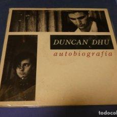 Discos de vinilo: EXPRO DOBLE LP DUNCAN DHU AUTOBIOGRAFIA MUY BUEN ESTADO GENERAL SOLO PEQUEÑAS SEÑALES DE USO. Lote 218010393