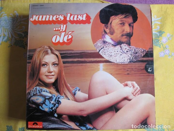 LP - JAMES LAST - Y OLE (SPAIN, POLYDOR 1974) (Música - Discos - LP Vinilo - Orquestas)