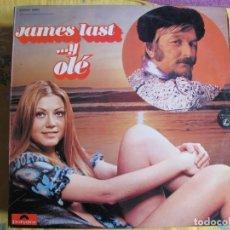 Disques de vinyle: LP - JAMES LAST - Y OLE (SPAIN, POLYDOR 1974). Lote 218016710
