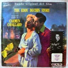 Discos de vinilo: CARMEN CAVALLARO - BANDA ORIGINAL THE EDDY DUCHIN STORY , DISCO VINILO LP, PORUNSWIK 1965. Lote 218016853