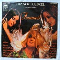 Discos de vinilo: FRANCK POURCEL - FEMMES , DISCO VINILO LP, EMI ODEON, 1972. Lote 218021040