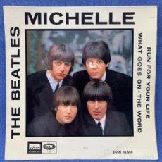 Discos de vinilo: SINGLE THE BEATLES - MICHELLE - ESPAÑA - 1966. Lote 218022973