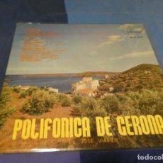 Discos de vinilo: EXPRO LP IBEROFON POLIFONICA DE GIRONA 1963 IDEM BUEN ESTADO. Lote 218023661