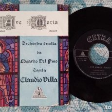 Discos de vinilo: SINGLE AVE MARIA SHUBERT. Lote 218024578