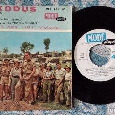 Discos de vinilo: SINGLE FILM EXODUS ORQUESTA DE LOS 101 VIOLINES. Lote 218024917