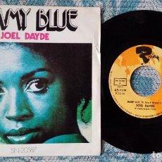 Discos de vinilo: SINGLE JOEL DAYDE - MAMY BLUE. Lote 218025260