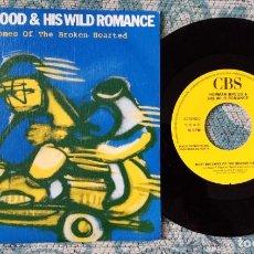 Discos de vinilo: SINGLE PROMOCIONAL HERMAN BROOD & HIS WILD ROMANCE. Lote 218025556